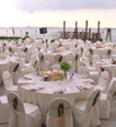 Wedding Reception on an Exclusive Island